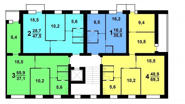Брежневские дома планировка