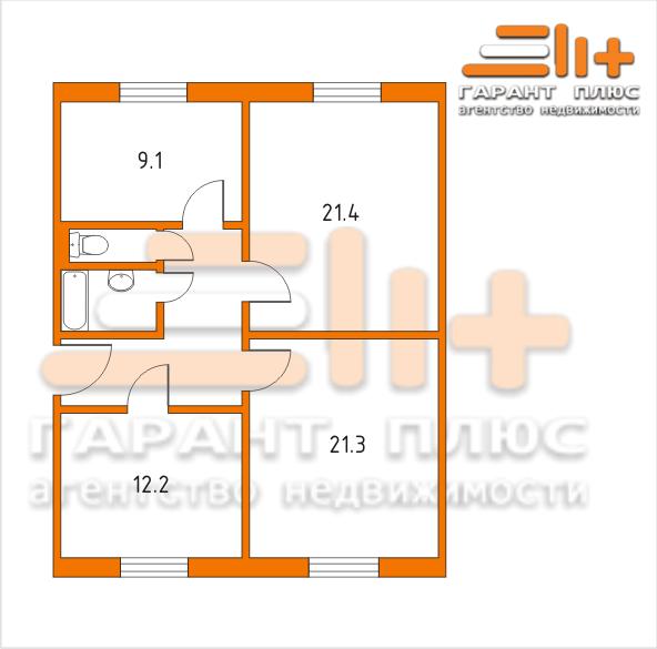 сталинка планировка 3 комнатная фото
